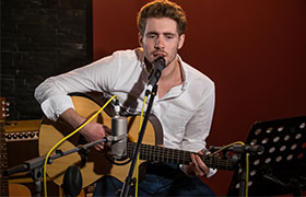 Wedding Singer Guitarist Brighton Marcello Michael WWD 280 4